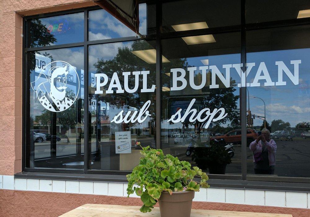 Paul Bunyan Sub Shop: 119 2nd St NW, Bemidji, MN