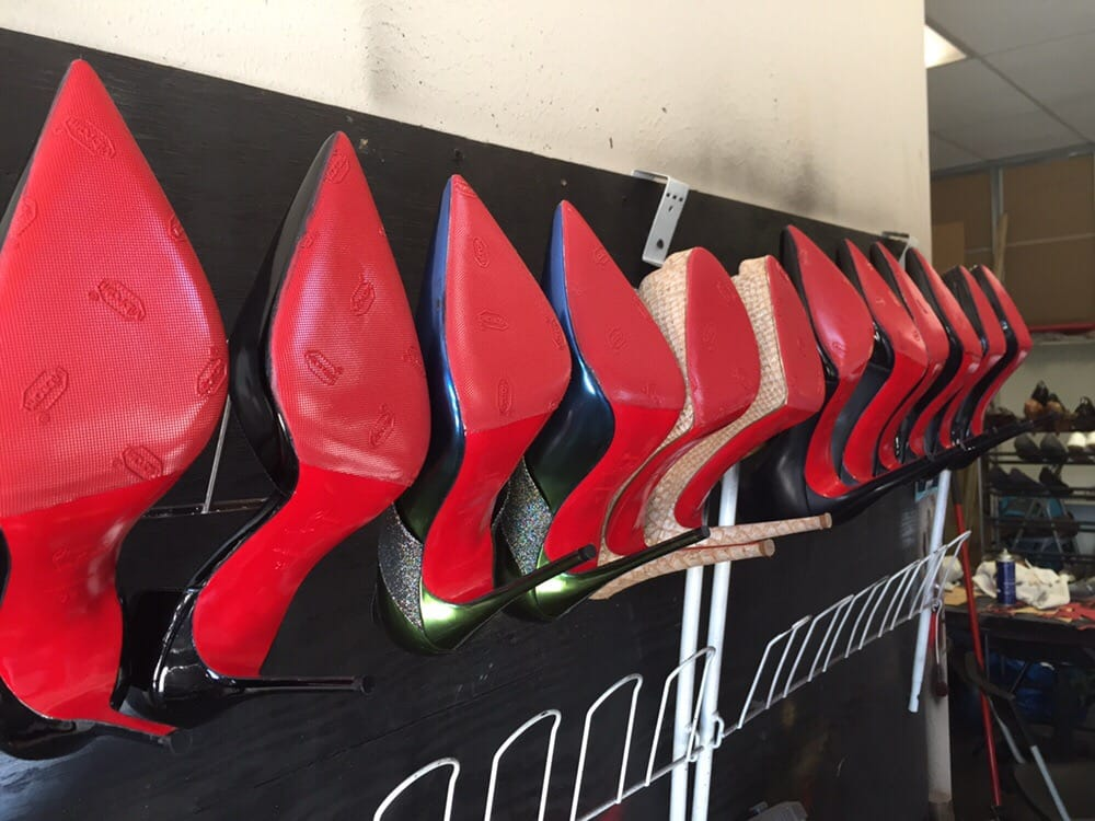 Our Specialty Christian Louboutin Soles Restored With Love By Shoe