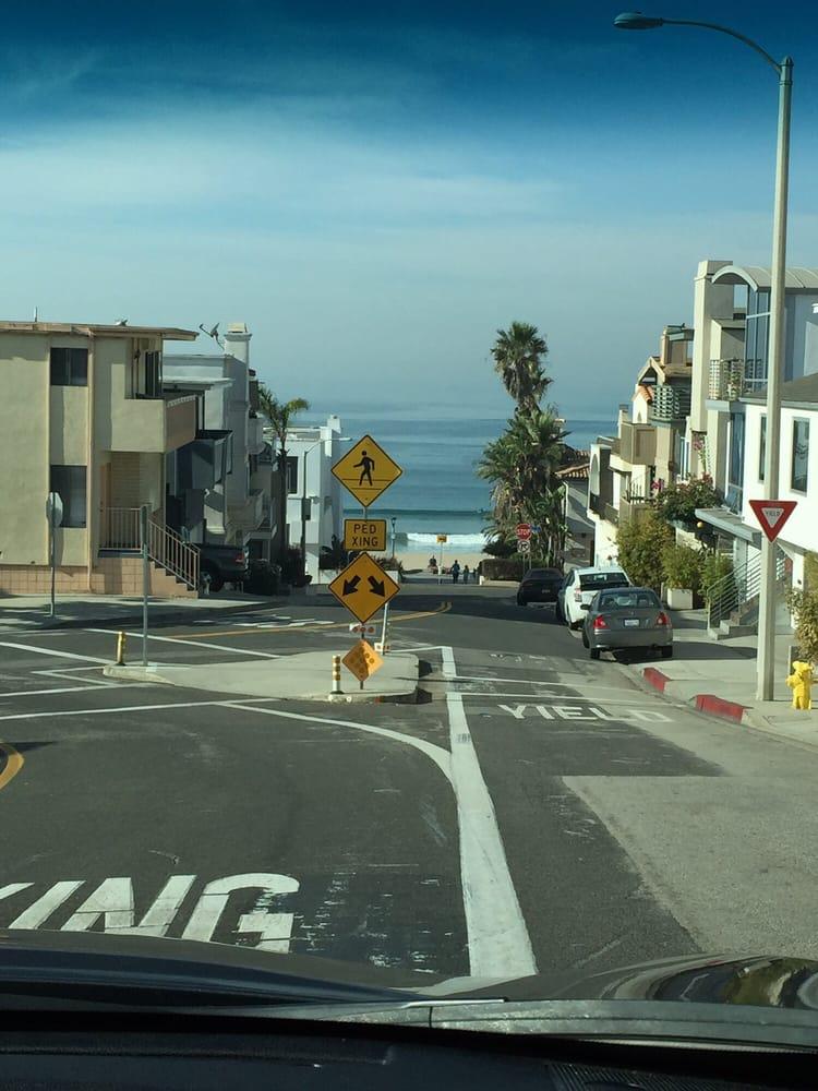 The Gorgeous Drive Towards Manhattan Beach