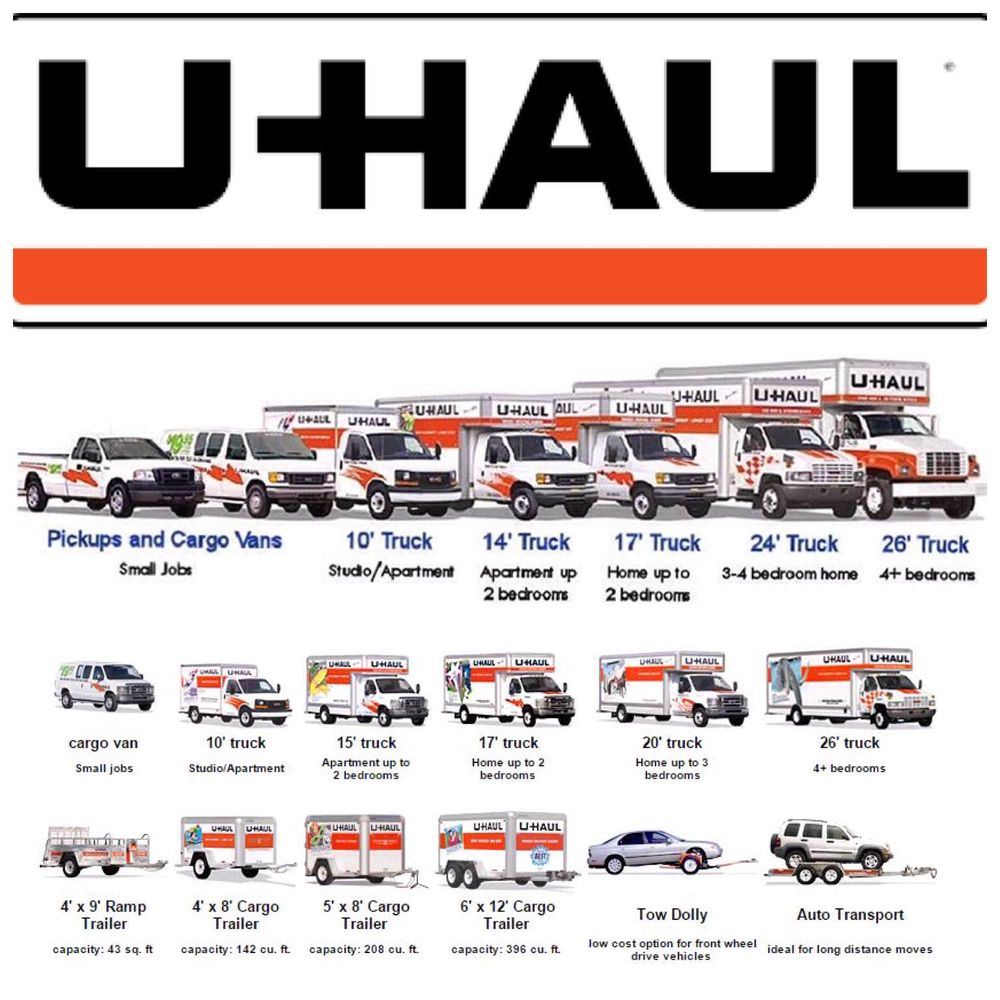 U-Haul Of San Gabriel. Trucks, Cargo Vans And Trailers