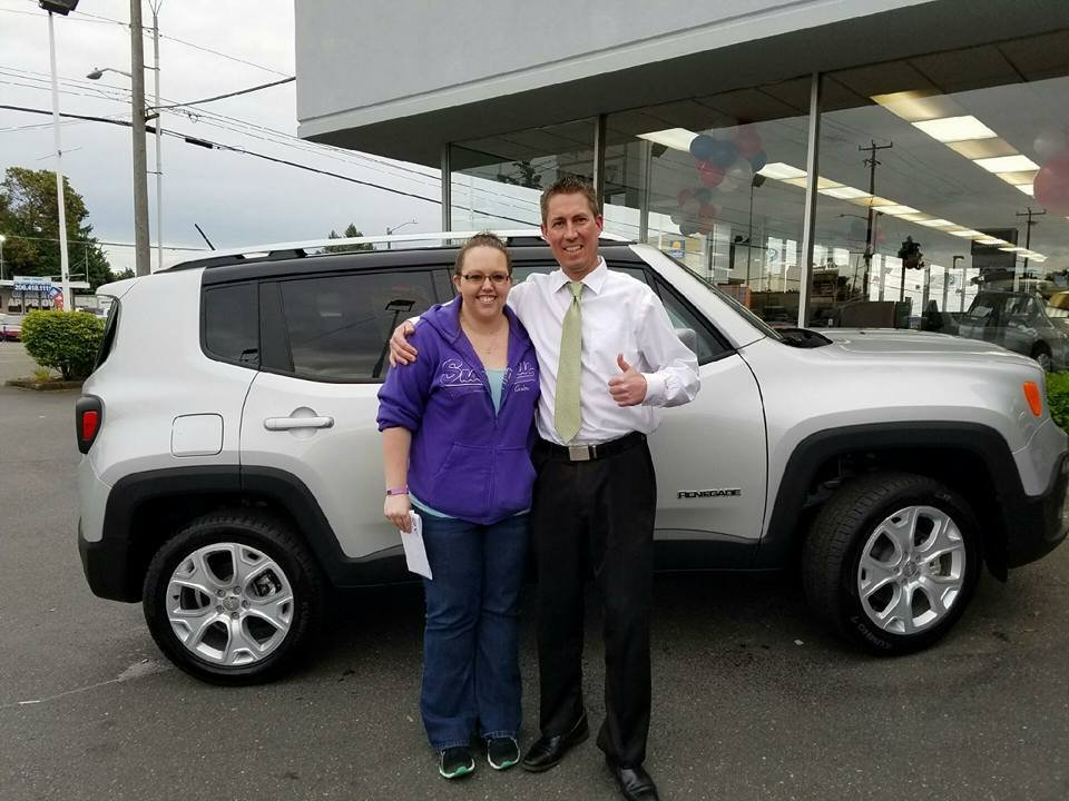 Another Happy CDJR Of Seattle Jeep Renegade Owner Yelp - Chrysler dealer seattle