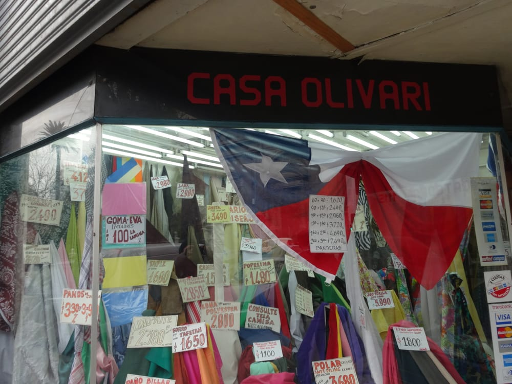 Casa olivari magasin de tissus catedral 1131 santiago - Hule por metros ...