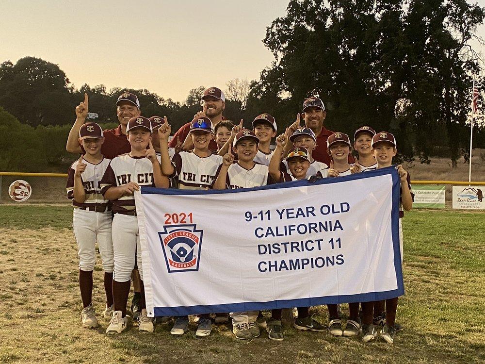 Bear River Little League: 10556 Combie Rd, Auburn, CA