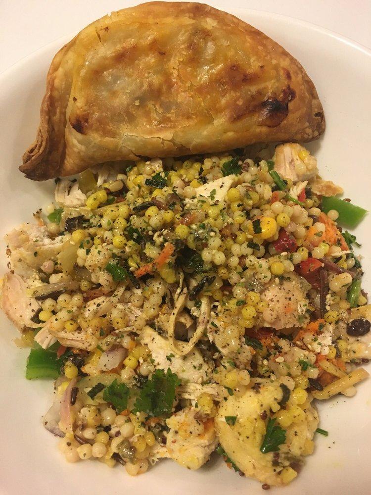 Whole Foods Fresh Beef Empanada Wfresh Made Chicken Couscous Salad