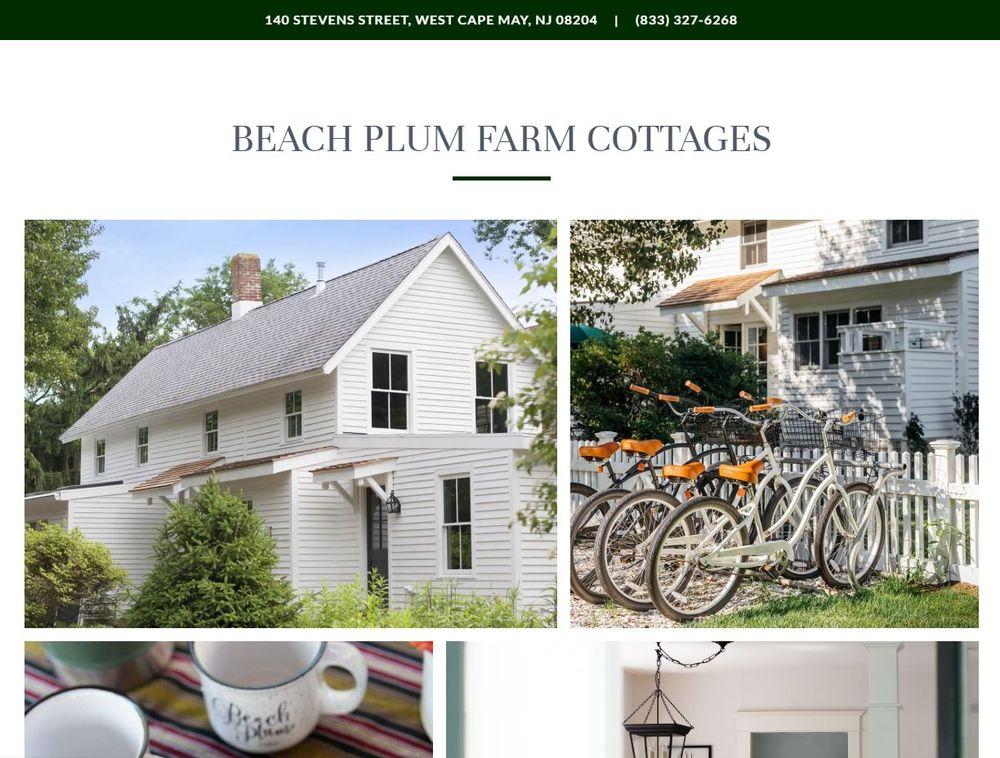Beach Plum Farm Cottages: 140 Stevens St, West Cape May, NJ