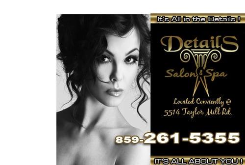 Details Salon & Spa: 5514 Taylor Mill Rd, Taylor Mill, KY