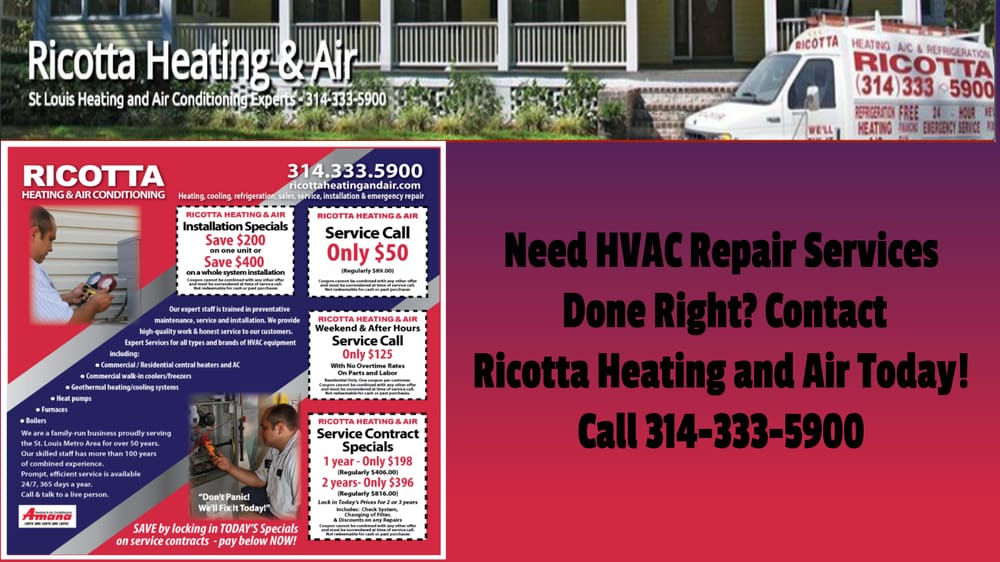 Ricotta Heating And Cooling 19 Photos Heating Amp Air