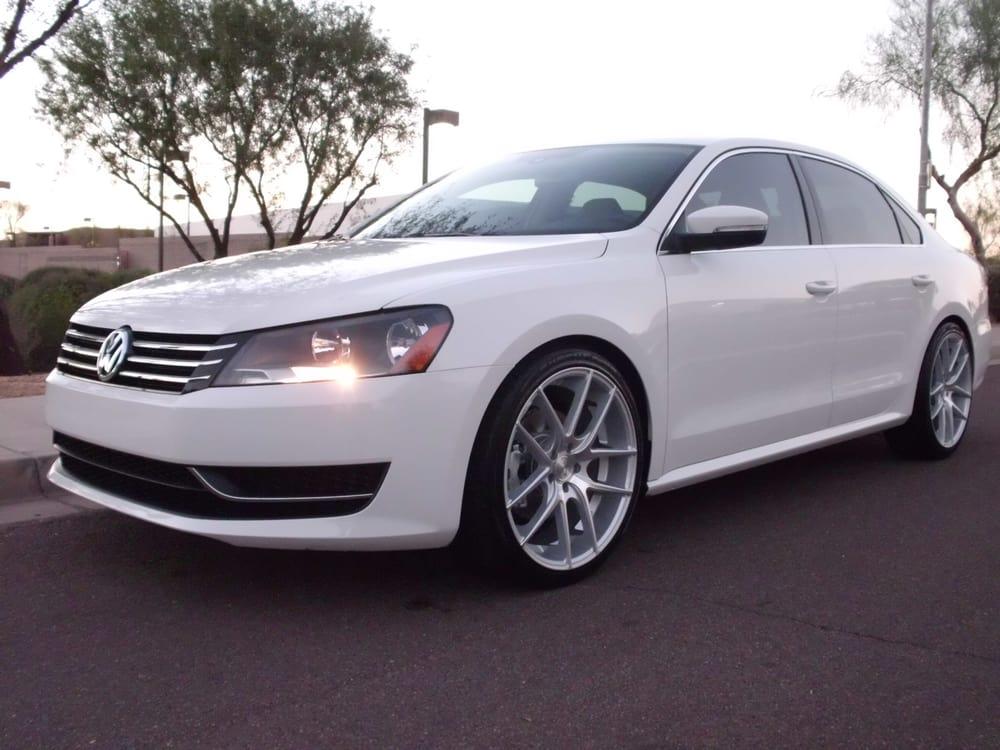 2013 Volkswagen Passat Se With 20 Inch Niche Targa Wheels