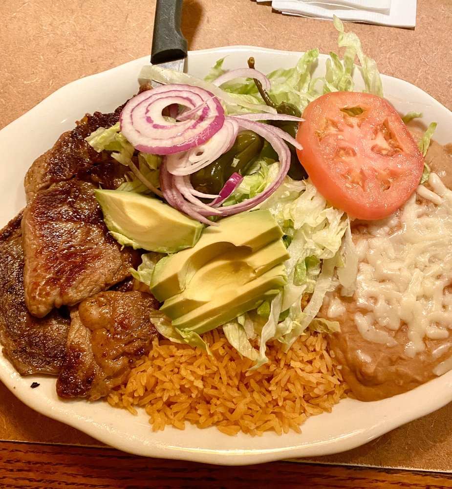 El Parral Mexican Restaurant: 670 Commonwealth Blvd W, Martinsville, VA