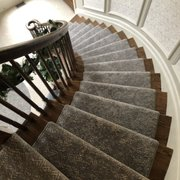 Detail Of Stairs Photo Carpet Yard Freehold Nj United States
