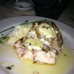 Louie's On The Avenue - Pearl River, NY, United States. Swordfish with truffle butter