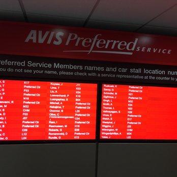 Avis Car Rental Tampa Airport Phone Number