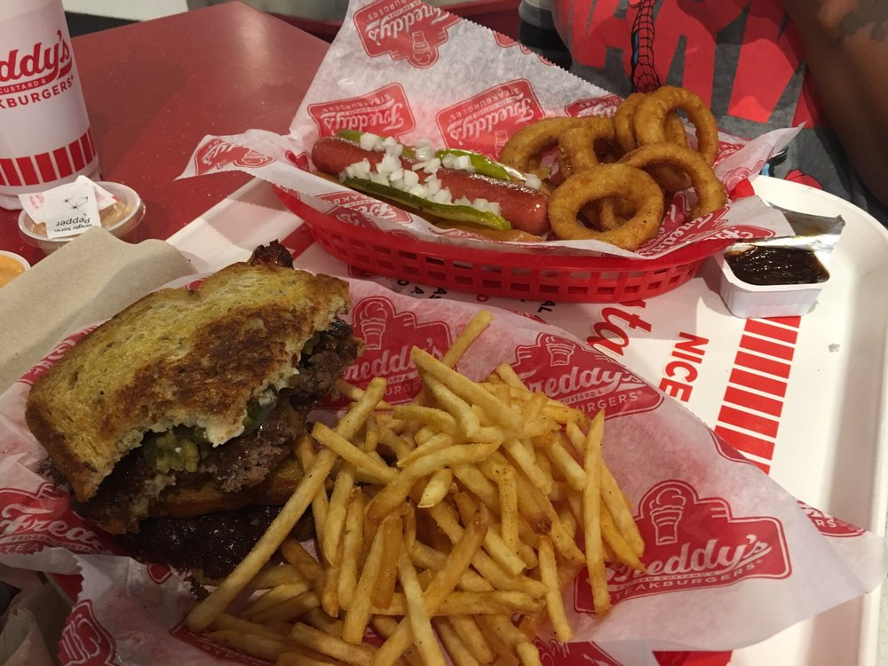 Freddy's Frozen Custard & Steakburgers: 2050 Oconee Connector, Athens, GA