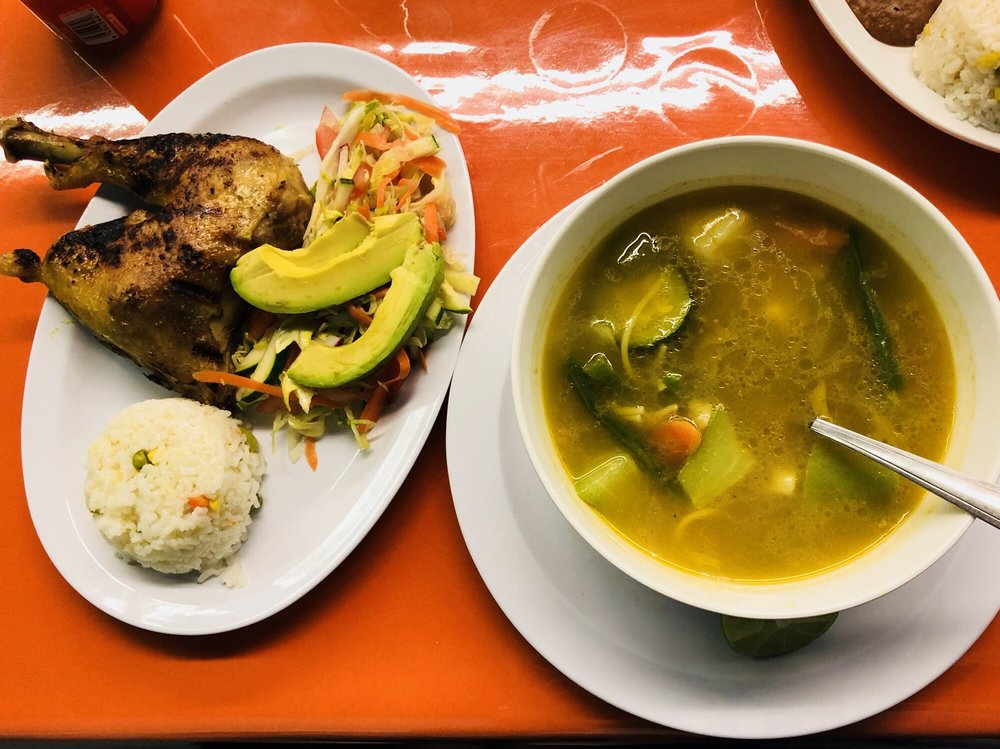 Food from El Pulgarcito
