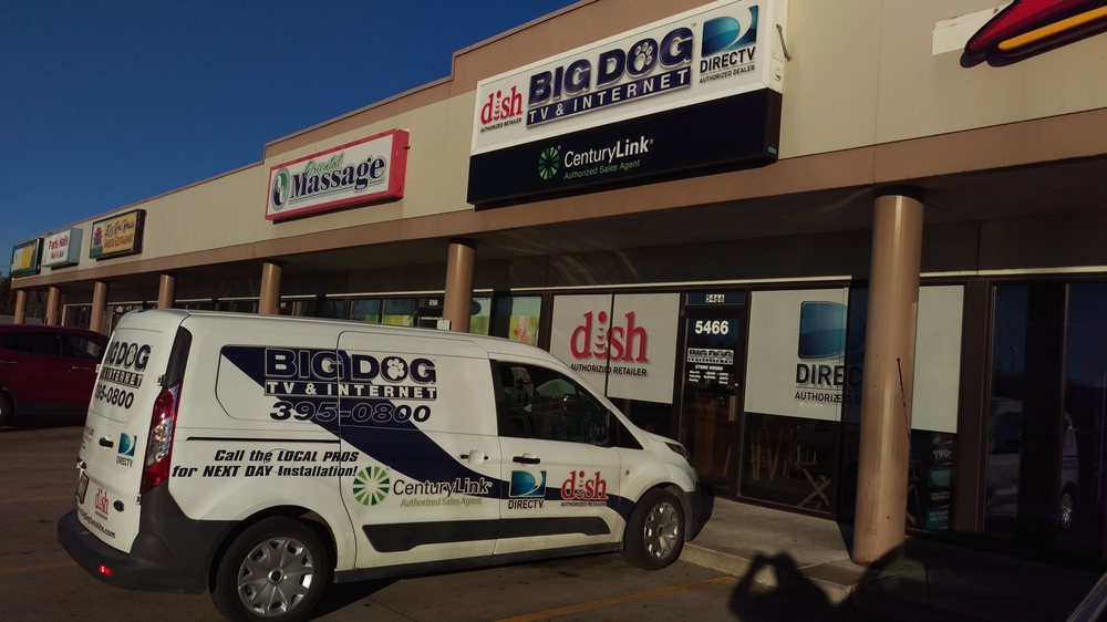Big Dog TV & Internet: 797 Blairs Ferry Rd NE, Cedar Rapids, IA
