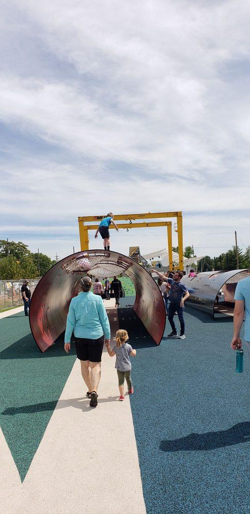 The Railyard Bike Park: 299 E Cherry St, Rogers, AR