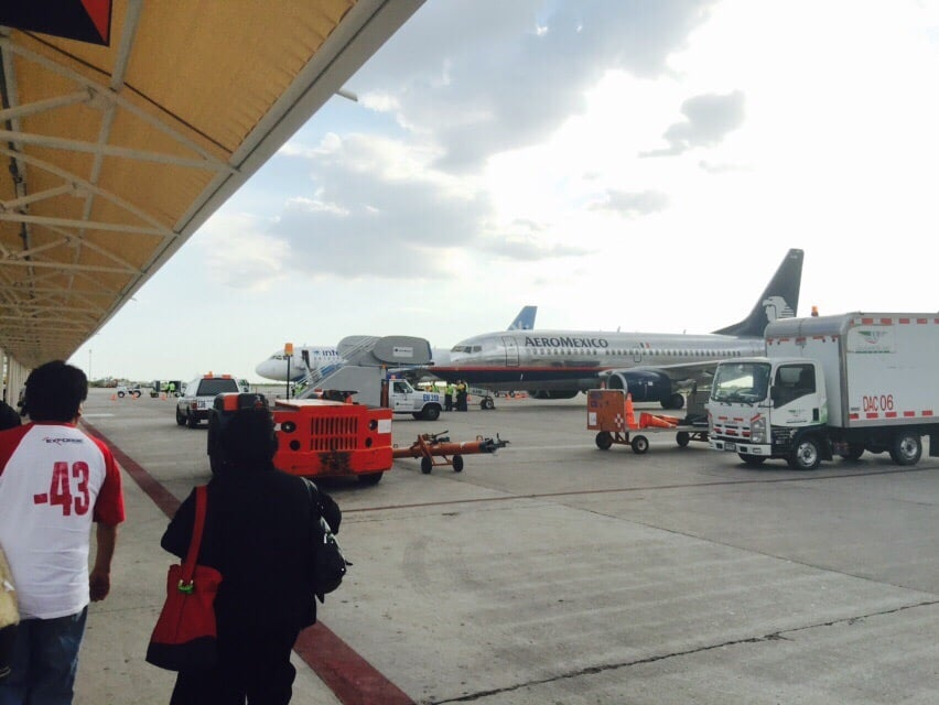 Foto de Aeropuerto Internacional de Hermosillo - La Manga, Sonora, México. Llegando