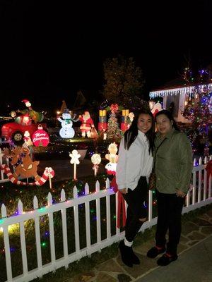 Brea Christmas Lights.Brea Christmas Light Neighborhood 2960 Primrose Ave 2970