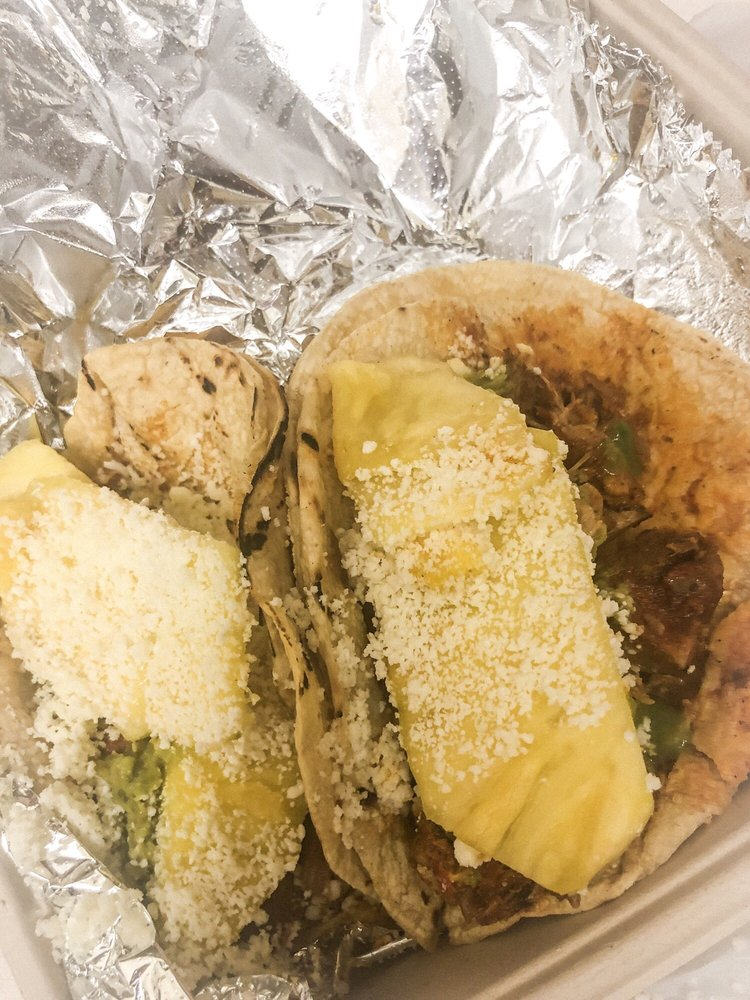 Food from Surfside Taco Stand