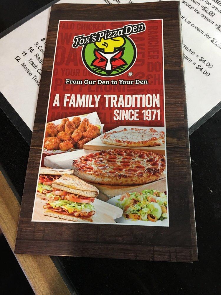 Fox's Pizza Den: 187 Main St, Eldred, PA