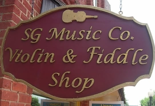 The Violin and Fiddle Shop