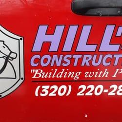 Hill's Construction - Contractors - Willmar, MN - Phone