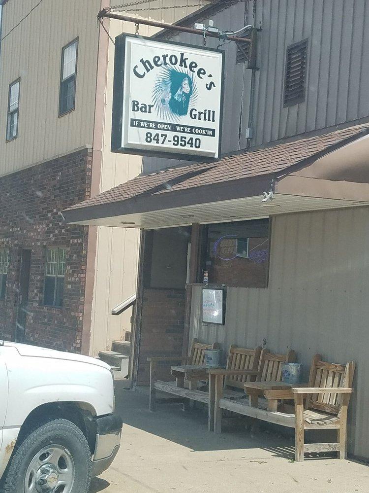 Cherokee's Bar & Grill: 509 Smith St, Grand Mound, IA