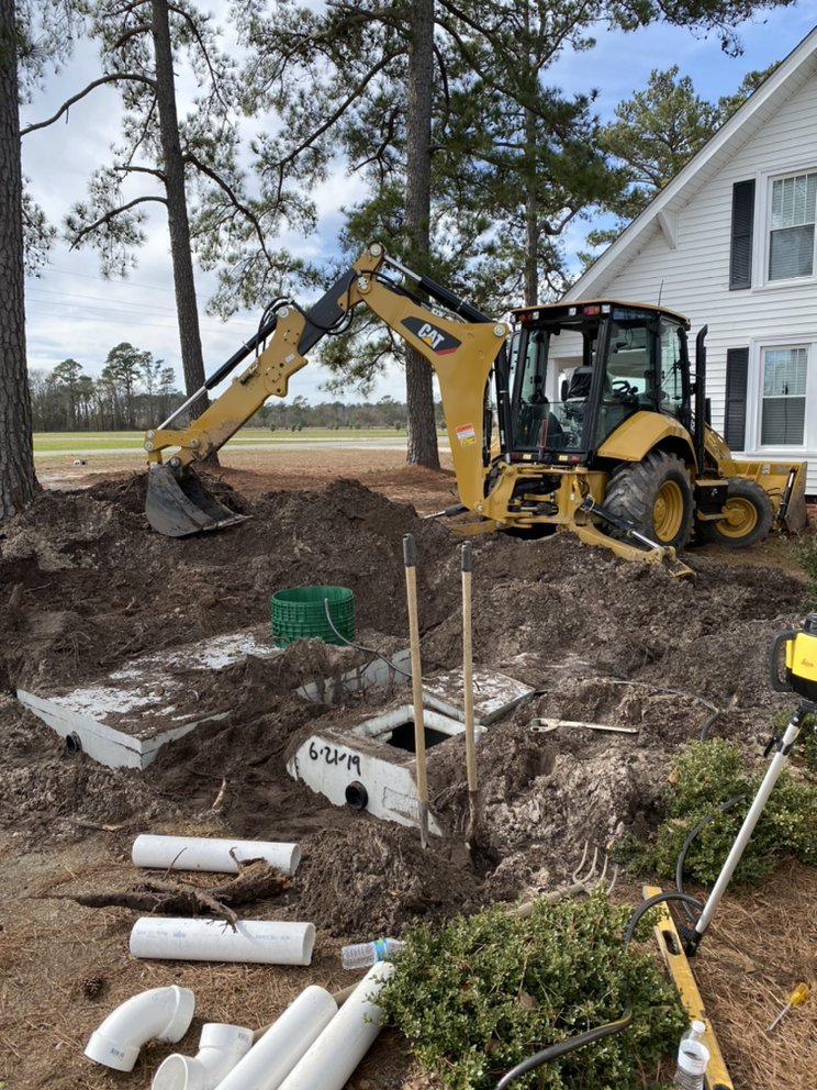 Cannady Brothers Well Drilling / C&C Septic Tank Service: 1366 Bass Lake Rd, Roseboro, NC