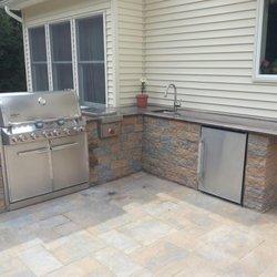 Photo Of Pro Cut Landscaping   West Nyack, NY, United States. Custom  Outdoor. Custom Outdoor Kitchen