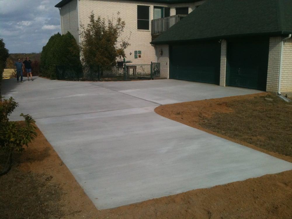 Concrete Driveway And Turnaround Yelp