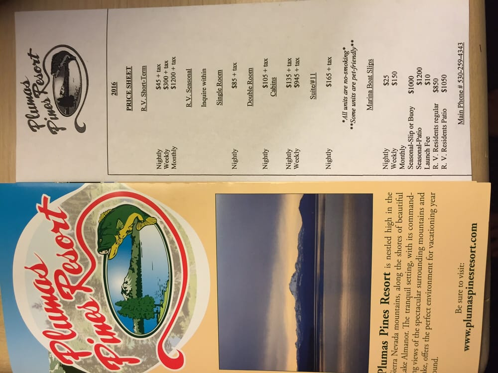 Plumas Pines Resort: 3000 Almanor Dr W, Canyondam, CA
