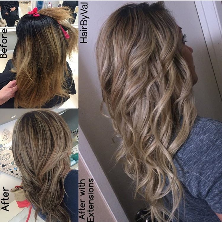 2nd Attempt Got Closer To Ash Blonde And With The Help Of Extension