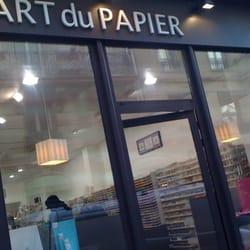 L art du papier cart es papelaria 16 rue daunou place vend me paris fran a n mero de - L art du papier paris ...
