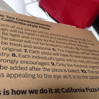 Image Result For California Pizza Kitchen Galleria Birmingham