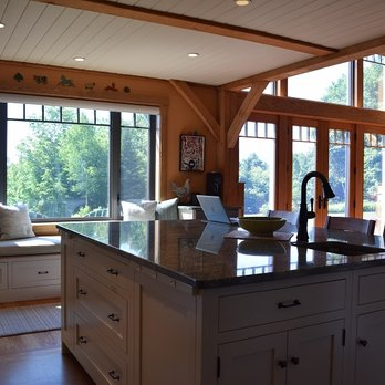 Timber Frame Kitchen Remodel in Sunapee - Yelp
