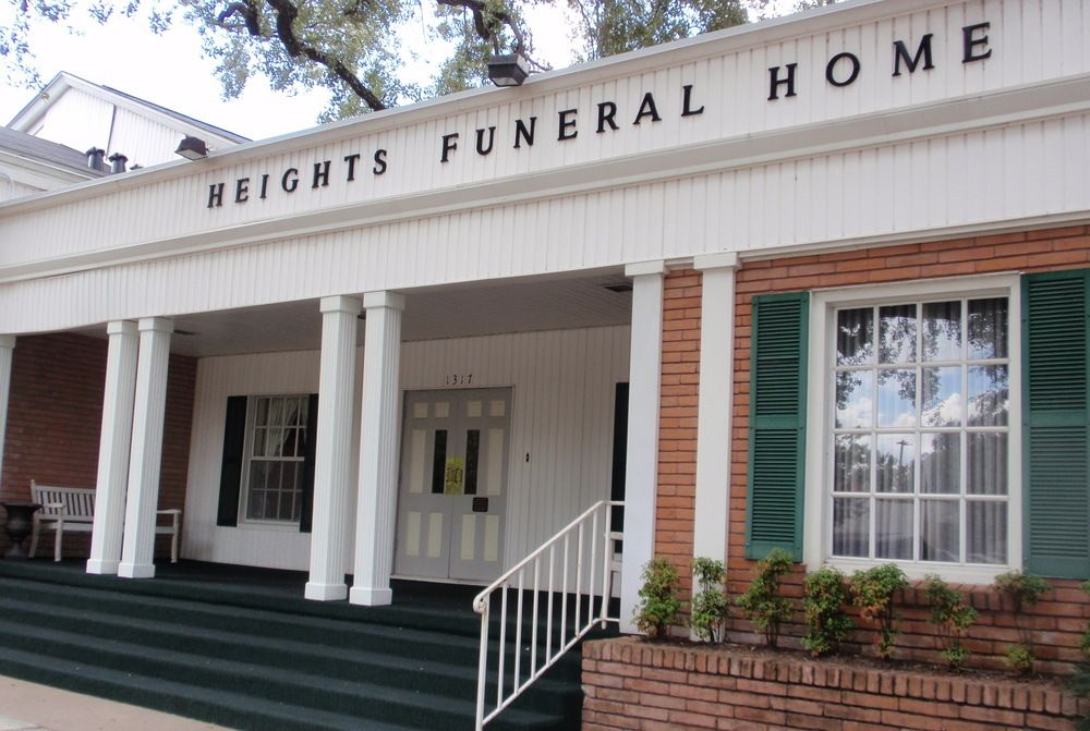 Heights Funeral Home: 1317 Heights Blvd, Houston, TX