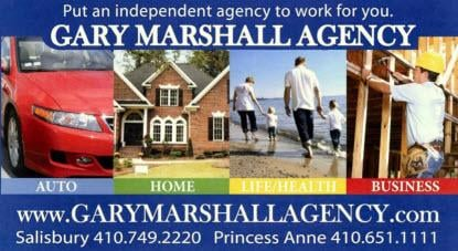 Gary Marshall Insurance Agency: 12610 Somerset Ave, Princess Anne, MD