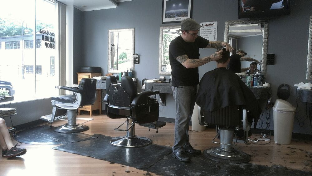 John cutting hair yelp for A b mackie salon