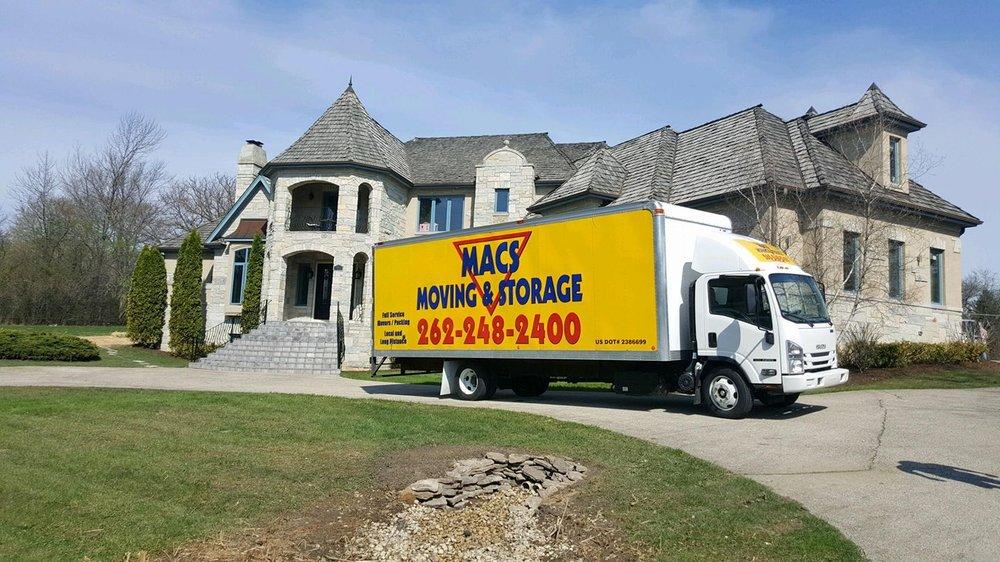 Macs Moving & Storage: N3445 Como Rd, Lake Geneva, WI