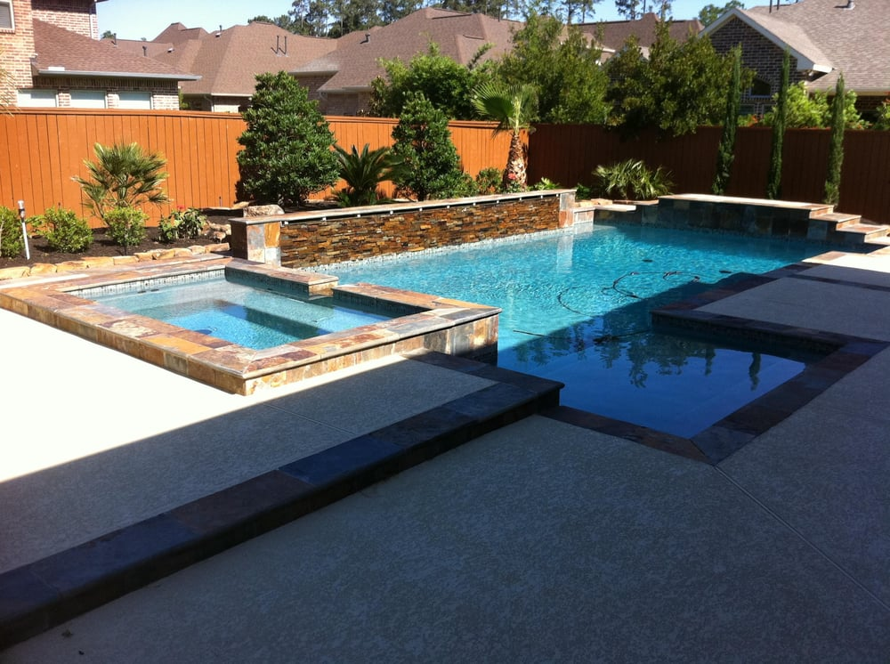 This Customer Included Many Great Features In Their Pool