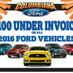 Columbiana Ford Car Dealers South Ave Columbiana OH - All ford vehicles