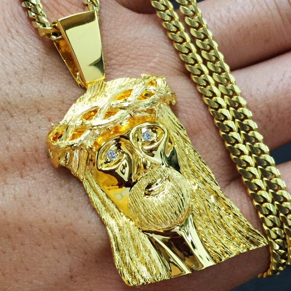 chains sale ben jewelry listings necklace watches lion gold size baller for