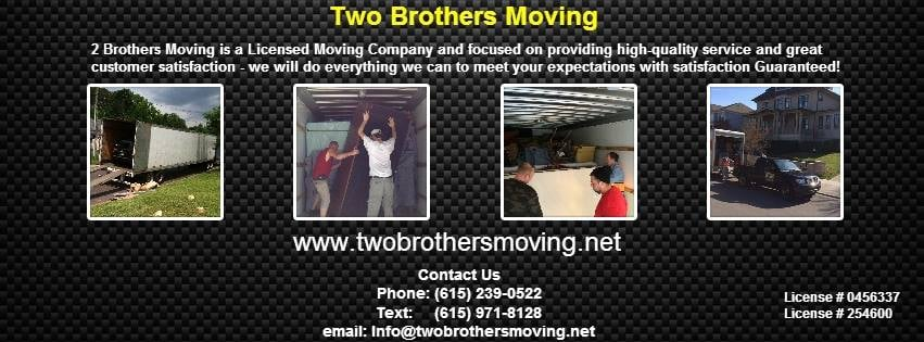 Two Brothers Moving: 1014 Lennox Ave, Greenbrier, TN