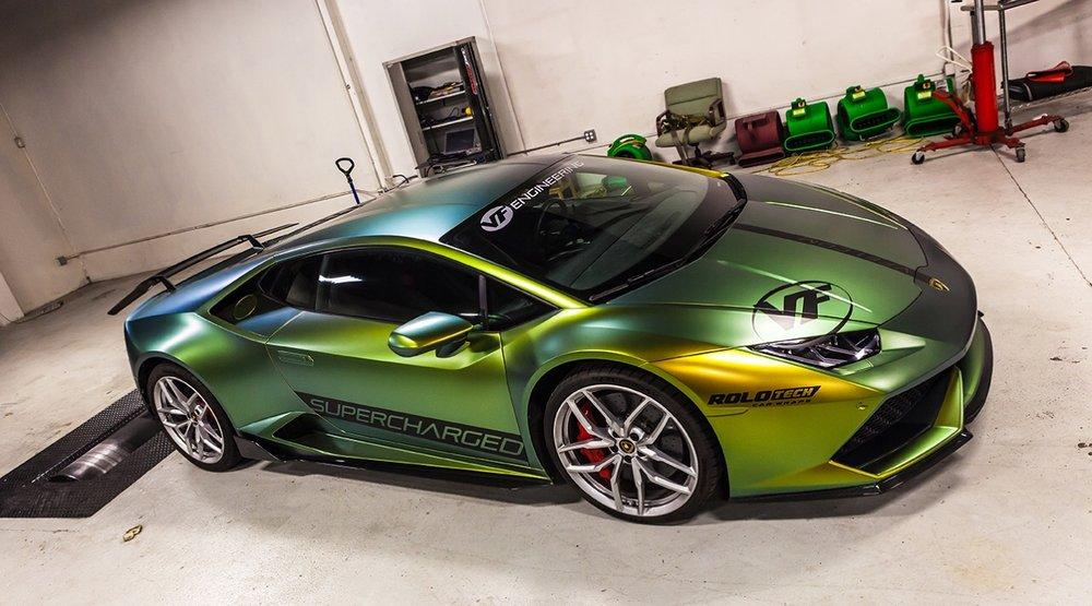 Lamborghini Huracan Full Wrap Yelp