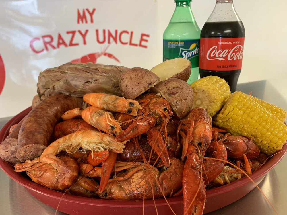 My Crazy Uncle Seafood: 2305 Hickory Ave, River Ridge, LA