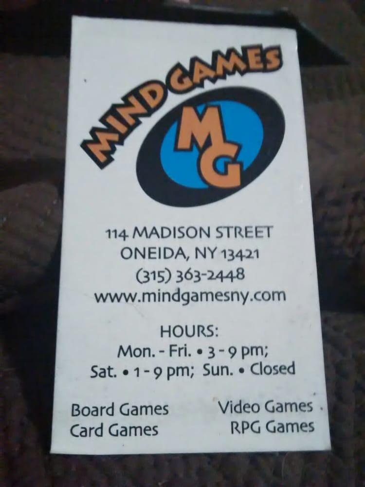 Mind Games: 114 Madison St, Oneida, NY