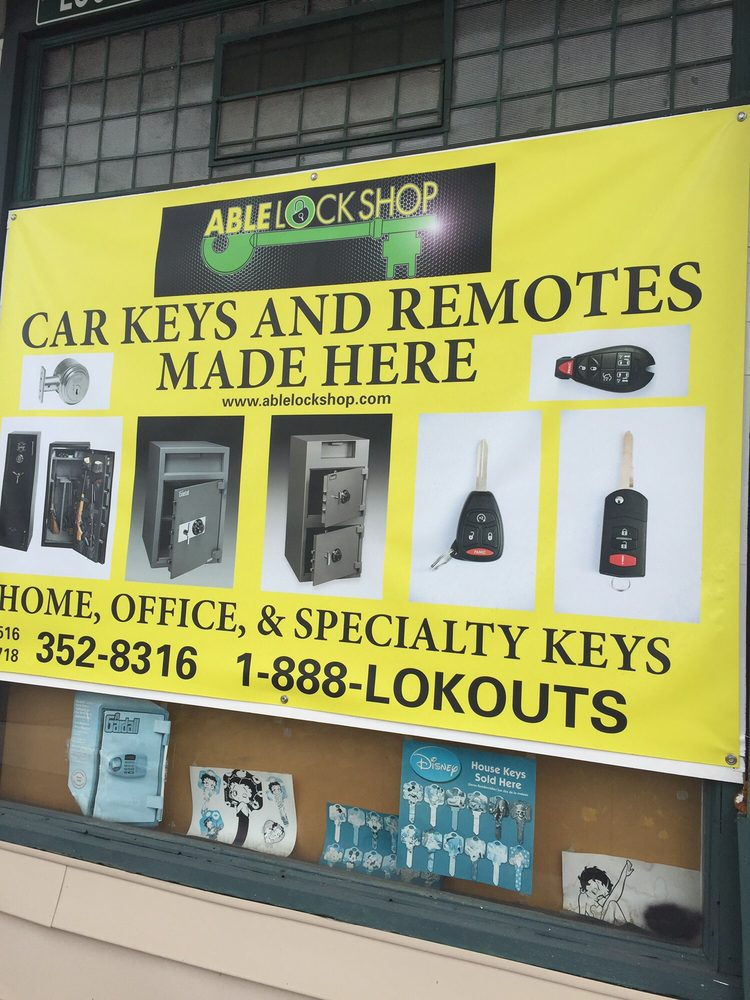 Able Lock Shop: 1100 Jericho Turnpike, New Hyde Park, NY