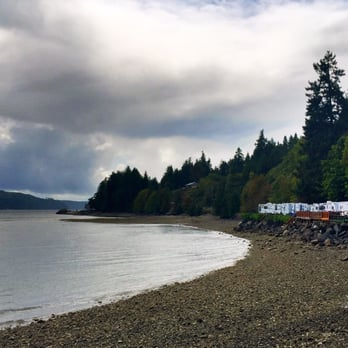 Photo Of Mike S Beach Resort Lilliwaup Wa United States South Side