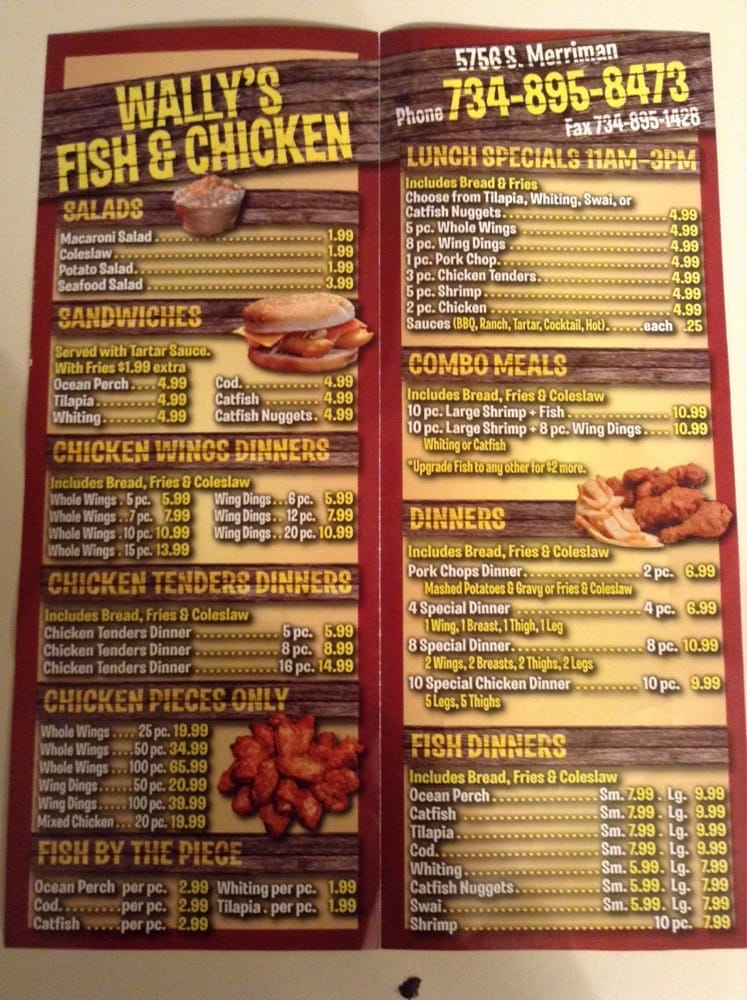 Wally's Fish & Chicken - (New) 15 Photos - Chicken Wings