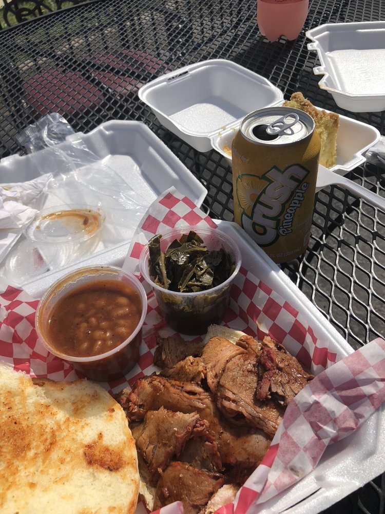 Food from Big Daddy's BBQ